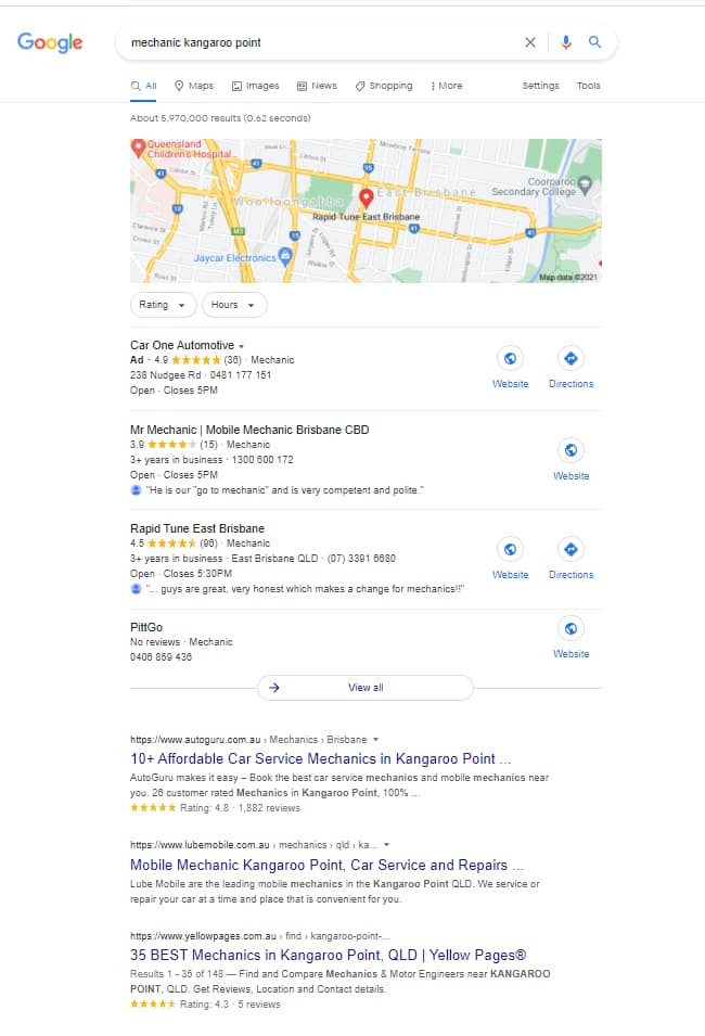 small law firm seo